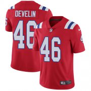Wholesale Cheap Nike Patriots #46 James Develin Red Alternate Youth Stitched NFL Vapor Untouchable Limited Jersey