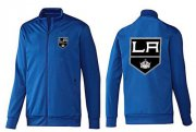 Wholesale Cheap NHL Los Angeles Kings Zip Jackets Blue-1