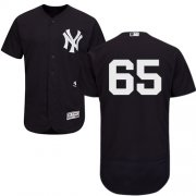 Wholesale Cheap Yankees #65 James Paxton Navy Blue Flexbase Authentic Collection Stitched MLB Jersey
