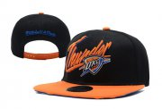 Wholesale Cheap NBA Oklahoma City Thunder Snapback Ajustable Cap Hat XDF 042