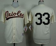 Wholesale Orioles #33 Eddie Murray Cream 1954 Turn Back The Clock Stitched Baseball Jersey