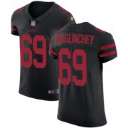 Wholesale Cheap Nike 49ers #69 Mike McGlinchey Black Alternate Men's Stitched NFL Vapor Untouchable Elite Jersey