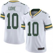 Wholesale Cheap Nike Packers #10 Jordan Love White Men's Stitched NFL Vapor Untouchable Limited Jersey