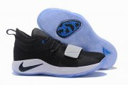 Wholesale Cheap Nike PG 2.5 Black and lake blue