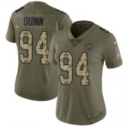 Wholesale Cheap Nike Bears #94 Robert Quinn Olive/Camo Women's Stitched NFL Limited 2017 Salute To Service Jersey