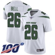 Wholesale Cheap Nike Jets #26 Le'Veon Bell White Youth Stitched NFL 100th Season Vapor Limited Jersey