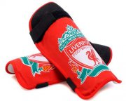 Wholesale Cheap Liverpool Soccer Shin Guards Red