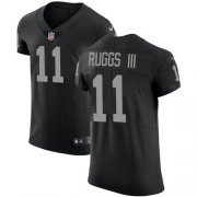 Wholesale Cheap Nike Raiders #11 Henry Ruggs III Black Team Color Men's Stitched NFL Vapor Untouchable Elite Jersey