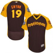 Wholesale Cheap Padres #19 Tony Gwynn Brown Flexbase Authentic Collection 2016 All-Star National League Stitched MLB Jersey