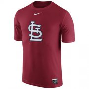 Wholesale Cheap St.Louis Cardinals Nike Authentic Collection Legend Logo 1.5 Performance T-Shirt Red