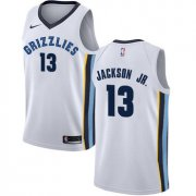 Wholesale Cheap Nike Memphis Grizzlies #13 Jaren Jackson Jr. White NBA Swingman Association Edition Jersey