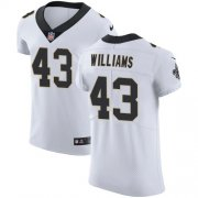 Wholesale Cheap Nike Saints #43 Marcus Williams White Men's Stitched NFL Vapor Untouchable Elite Jersey
