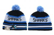 Wholesale Cheap NHL SAN JOSE SHARKS Beanies 2