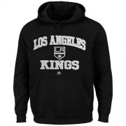 Wholesale Cheap Los Angeles Kings Majestic Heart & Soul Hoodie Black