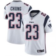 Wholesale Cheap Nike Patriots #23 Patrick Chung White Youth Stitched NFL Vapor Untouchable Limited Jersey