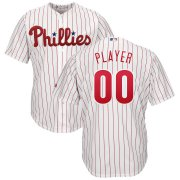 Wholesale Cheap Philadelphia Phillies Majestic Home Cool Base Custom Jersey White