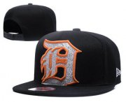 Wholesale Cheap MLB Detroit Tigers Snapback Ajustable Cap Hat YD 2