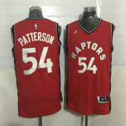 Wholesale Cheap Men's Toronto Raptors #54 Patrick Patterson Red New NBA Rev 30 Swingman Jersey