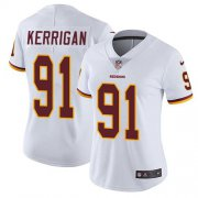 Wholesale Cheap Nike Redskins #91 Ryan Kerrigan White Women's Stitched NFL Vapor Untouchable Limited Jersey