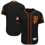 Wholesale Cheap Giants Blank Black 2019 Spring Training Flex Base Stitched MLB Jersey