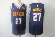 Wholesale Cheap Denver Nuggets 27 Jamal Murray Navy Nike Swingman Jersey