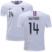 Wholesale Cheap France #14 Matuidi Away Kid Soccer Country Jersey