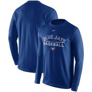 Wholesale Cheap Toronto Blue Jays Nike Practice Long Sleeve T-Shirt Royal