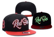 Wholesale Cheap MLB Boston Red Sox Adjustable Snapback Hat YD16062718