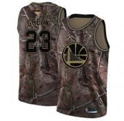Wholesale Cheap Warriors #23 Draymond Green Camo 2019 Finals Bound Basketball Swingman Realtree Collection Jersey