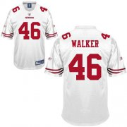 Wholesale Cheap 49ers #46 Delanie Walker White Stitched NFL Jersey