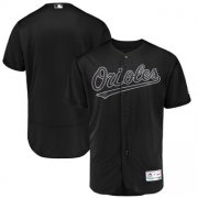 Wholesale Cheap Baltimore Orioles Blank Majestic 2019 Players' Weekend Flex Base Authentic Team Jersey Black