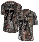 Wholesale Cheap Nike Rams #77 Andrew Whitworth Camo Youth Stitched NFL Limited Rush Realtree Jersey