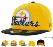 Wholesale Cheap Pittsburgh Steelers fitted hats 08