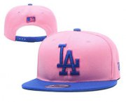 Wholesale Cheap MLB Los Angeles Dogers Snapback Ajustable Cap Hat 4