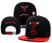 Wholesale Cheap NBA Chicago Bulls Snapback Ajustable Cap Hat DF 03-13_22