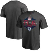 Wholesale Cheap Washington Nationals Majestic 2019 Spring Training Grapefruit League Winner Big & Tall T-Shirt Gray