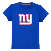 Wholesale Cheap New York Giants Sideline Legend Authentic Logo Youth T-Shirt Blue