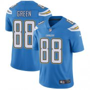 Wholesale Cheap Nike Chargers #88 Virgil Green Electric Blue Alternate Men's Stitched NFL Vapor Untouchable Limited Jersey