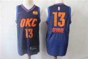 Wholesale Cheap Thunder 13 Paul George Navy City Edition Nike Swingman Jersey