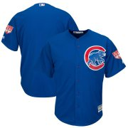 Wholesale Cheap Cubs Blank Blue 2019 Spring Training Cool Base Stitched MLB Jersey
