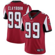 Wholesale Cheap Nike Falcons #99 Adrian Clayborn Red Team Color Men's Stitched NFL Vapor Untouchable Limited Jersey