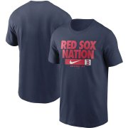 Wholesale Cheap Boston Red Sox Nike Local Nickname T-Shirt Navy