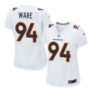 Wholesale Cheap Nike Broncos #94 DeMarcus Ware White Women's Stitched NFL Game Event Jersey