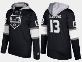 Wholesale Cheap Kings #13 Kyle Clifford Black Name And Number Hoodie