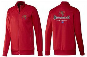 Wholesale Cheap NFL Tampa Bay Buccaneers Victory Jacket Red