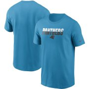 Wholesale Cheap Carolina Panthers Nike Split T-Shirt Blue