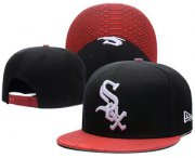Wholesale Cheap Chicago White Sox Snapback Ajustable Cap Hat GS 3