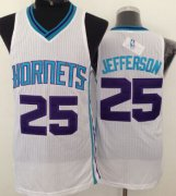 Wholesale Cheap Charlotte Hornets #25 Al Jefferson White Swingman Jersey