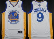 Wholesale Cheap Golden State Warriors #9 Andre Iguodala Revolution 30 Swingman White Jersey