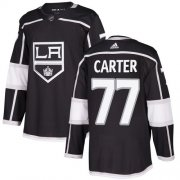 Wholesale Cheap Adidas Kings #77 Jeff Carter Black Home Authentic Stitched Youth NHL Jersey